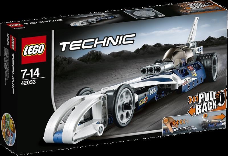 LEGO® Technic 42033 - Action Raketenauto