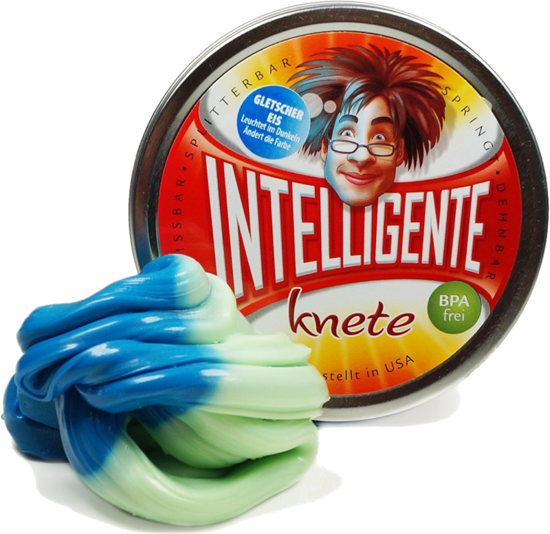 Intelligente Knete.de 23011 - Gletschereis