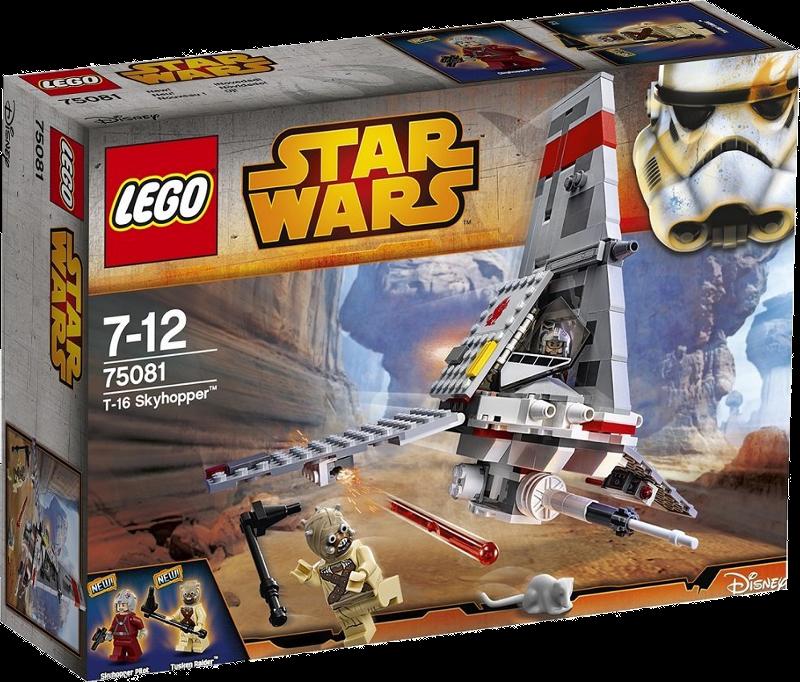 LEGO® Star Wars 75081 - T-16 Skyhopper™