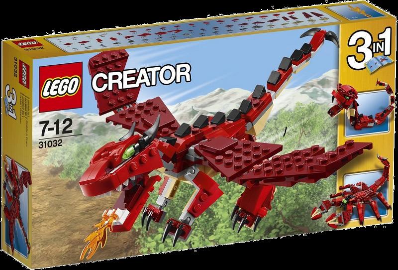 LEGO® Creator 31032 - Rote Kreaturen