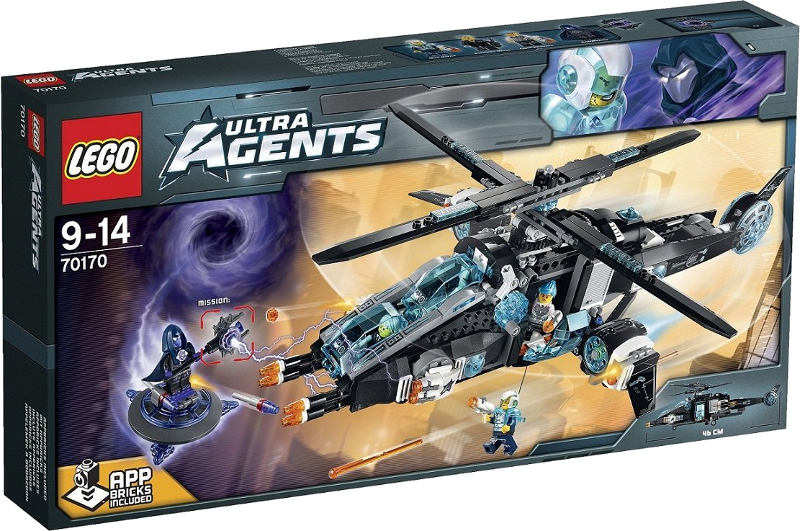 LEGO® Ultra Agents 70170 - UltraCopter vs. AntiMatter