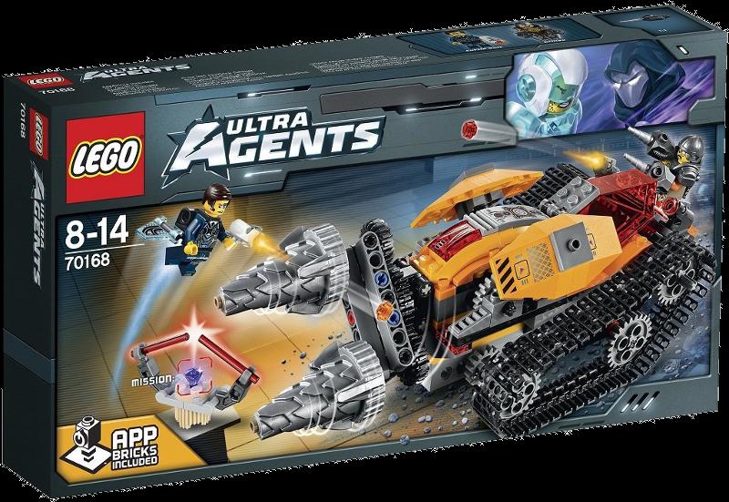 LEGO® Ultra Agents 70168 - Drillex Diamanten Diebstahl
