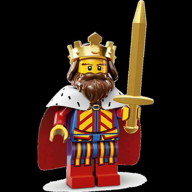 LEGO® Minifigures Serie 13 71008-01 - Klassischer König