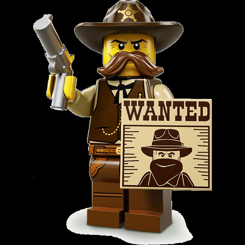 LEGO® Minifigures Serie 13 71008-02 - Sheriff