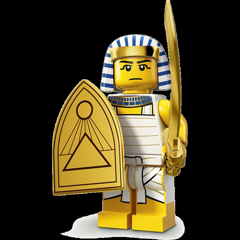 LEGO® Minifigures Serie 13 71008-08 - Ägyptischer Krieger