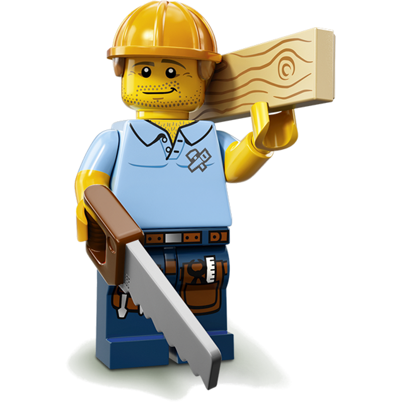 LEGO® Minifigures Serie 13 71008-09 - Zimmermann