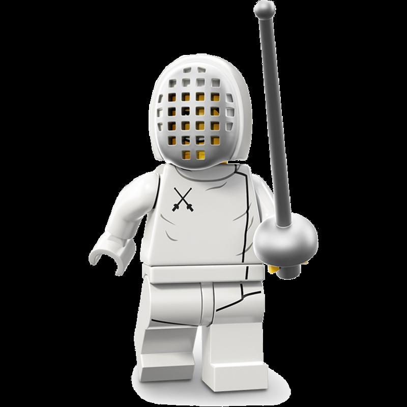 LEGO® Minifigures Serie 13 71008-11 - Fechter