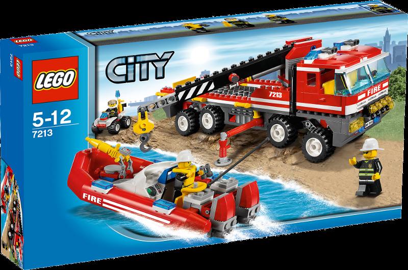 LEGO® City 7213 - Feuerwehr-Truck mit Löschboot