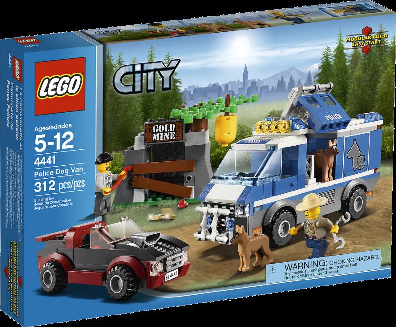 LEGO® City 4441 - Polizeihundetransporter