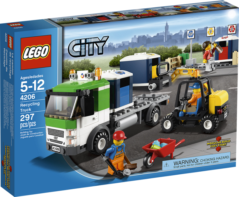 LEGO® City 4206 - Recycling-Truck