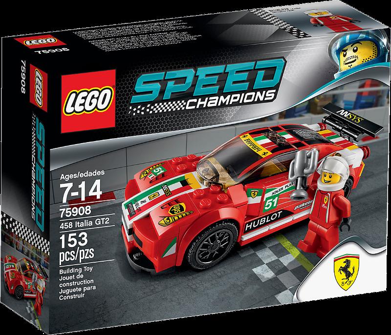 LEGO® Speed Champions 75908 - 458 Italia GT2