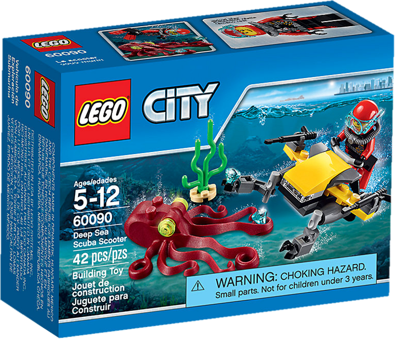 LEGO® City 60090 - Tiefsee-Tauchscooter