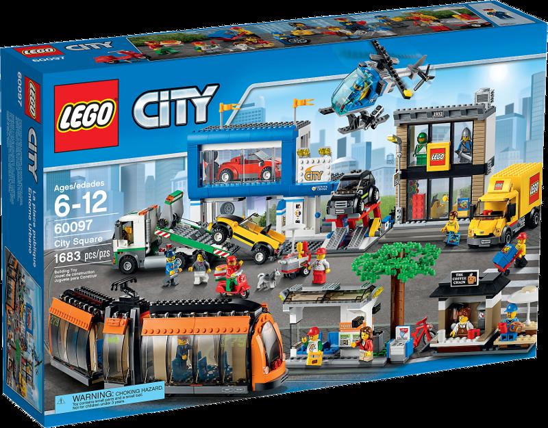 LEGO® City 60097 - Stadtzentrum