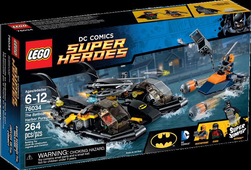 LEGO® Super Heroes 76034 - Die Batboat-Verfolgungsjagd im Hafen