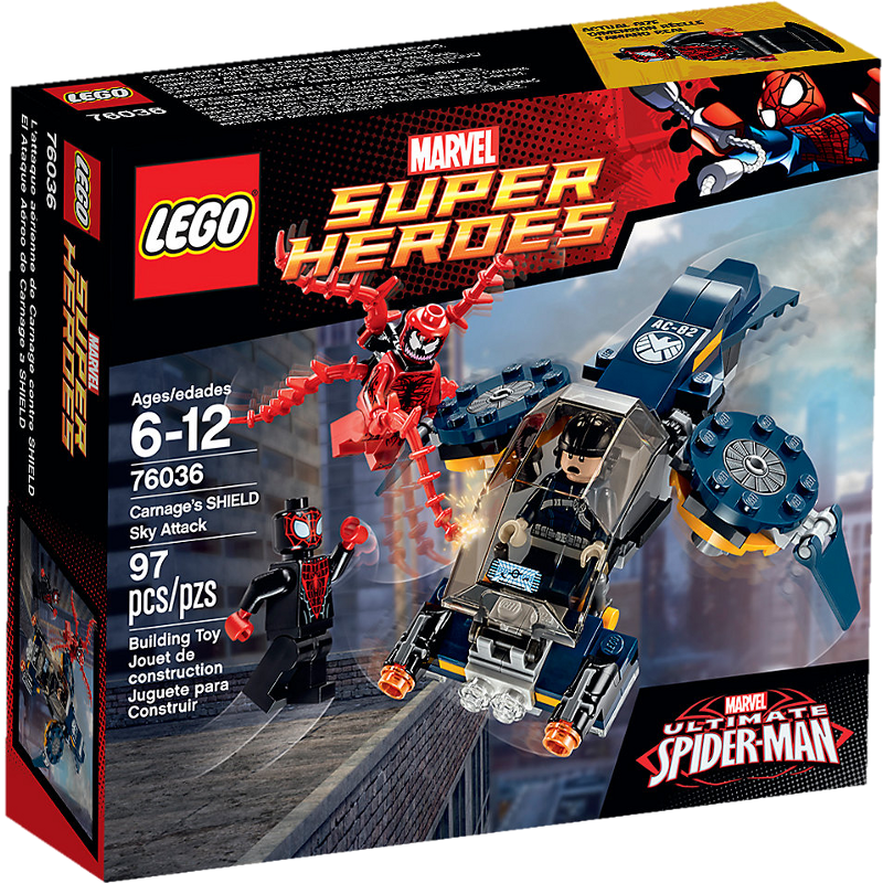 LEGO® Super Heroes 76036 - Carnages Attacke auf SHIELD
