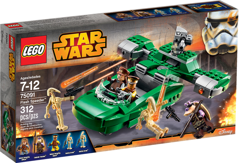 LEGO® Star Wars 75091 - Flash Speeder™