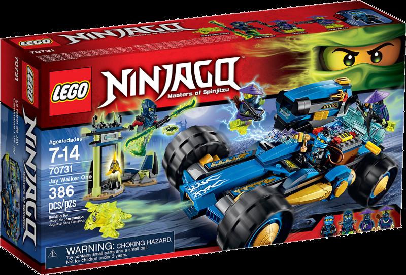 LEGO® NINJAGO® 70731 - Jay Walker One