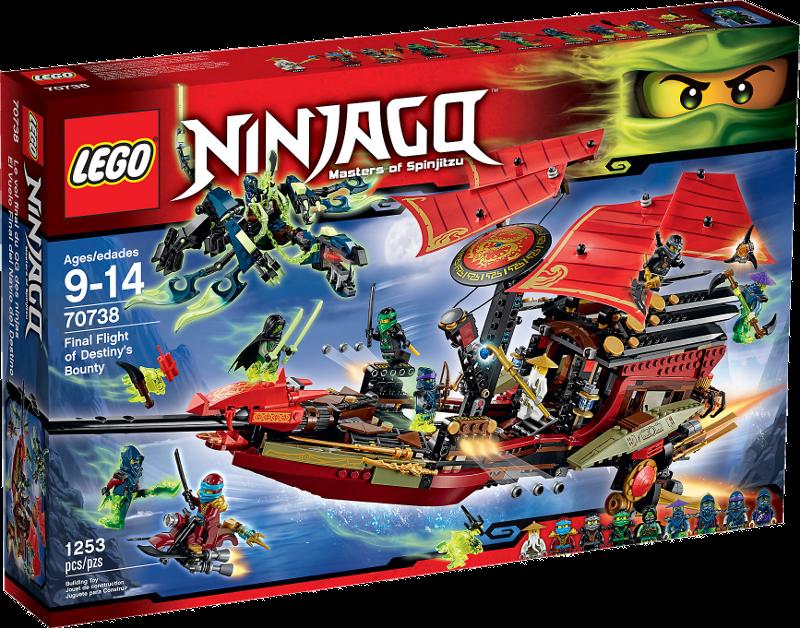 LEGO® NINJAGO® 70738 - Der letzte Flug des Ninja-Flugseglers