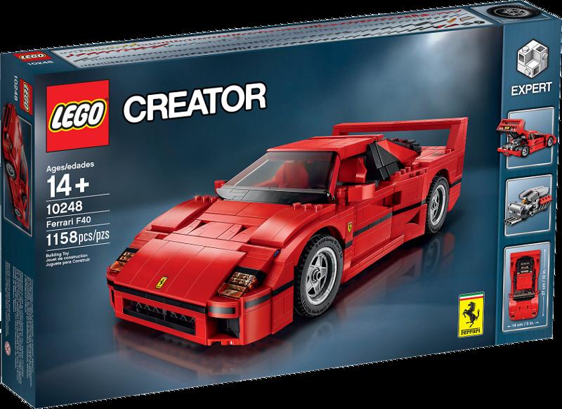 LEGO® Creator 10248 - Ferrari F40