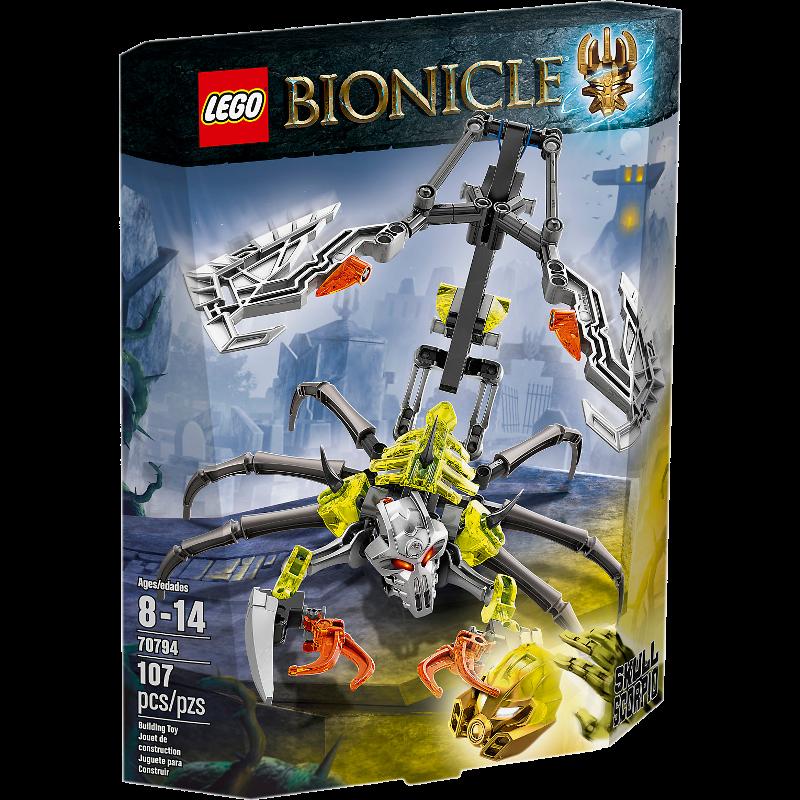 LEGO® BIONICLE® 70794 - Totenkopf-Skorpion