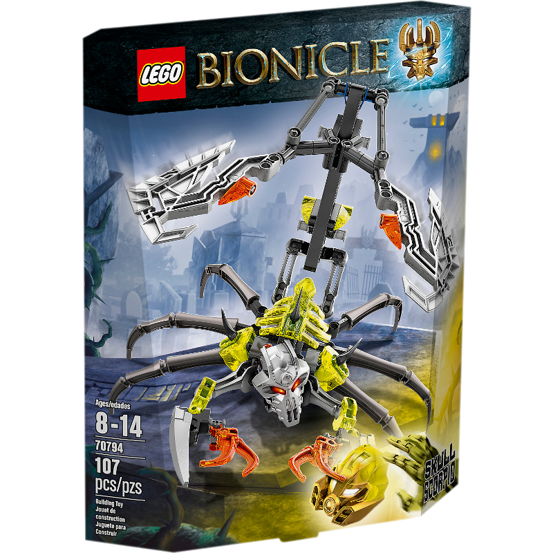 LEGO® BIONICLE® 70795 - Maskenmacher vs. Totenkopf-Brecher
