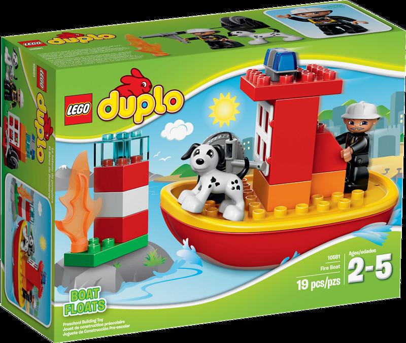 LEGO® DUPLO® 10591 - Feuerwehrboot