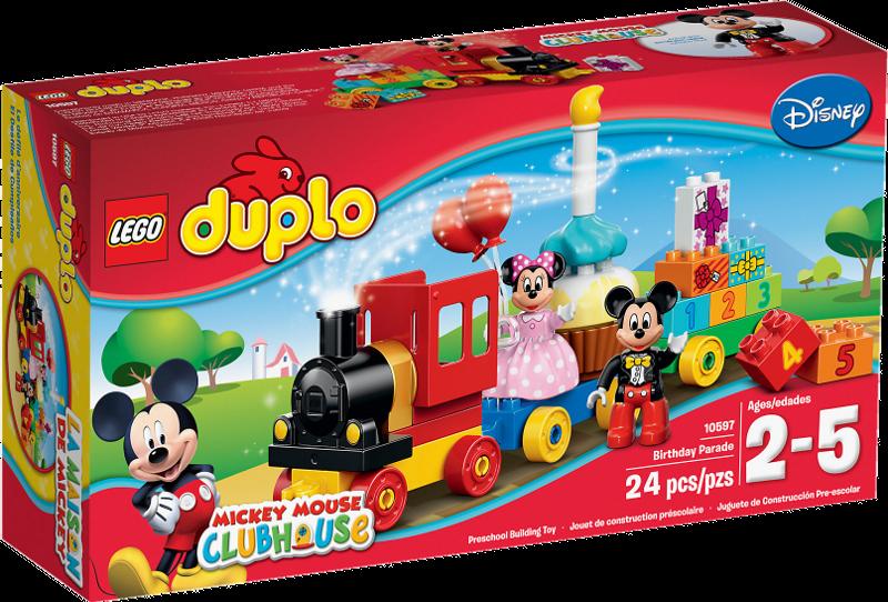 LEGO® DUPLO® 10597 - Mickey und Minnie Geburtstagsparade