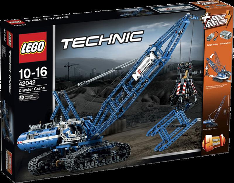 LEGO® Technic 42042 - Seilbagger