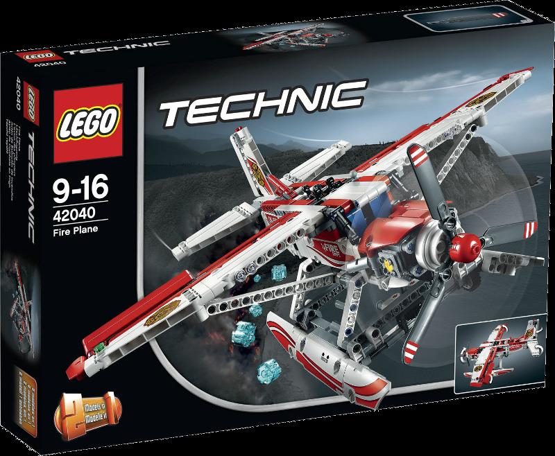 LEGO® Technic 42040 - Löschflugzeug
