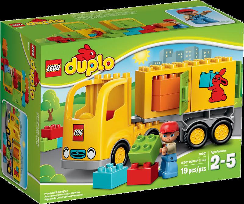 LEGO® DUPLO® 10601 - Lastwagen mit Anhänger