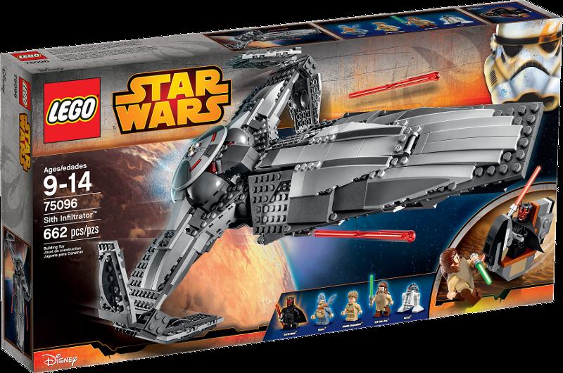 LEGO® Star Wars 75096 - Sith Infiltrator™