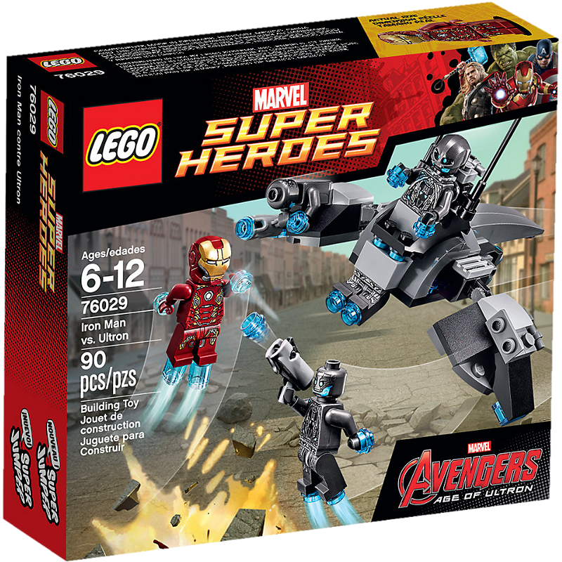 LEGO® Super Heroes 76029 - Iron Man vs. Ultron