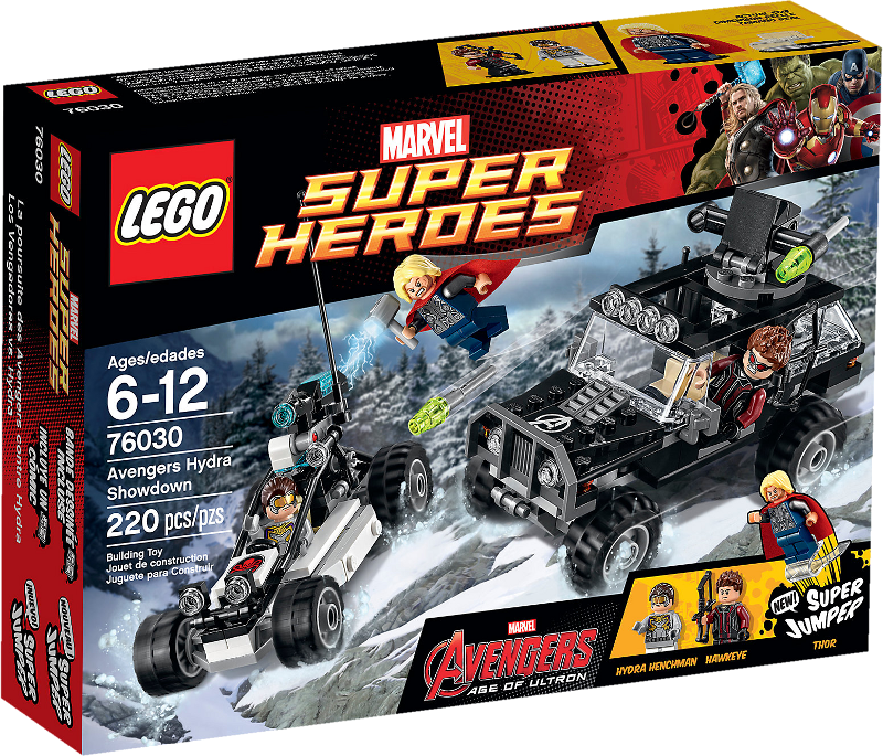 LEGO® Super Heroes 76030 - Duell mit Hydra