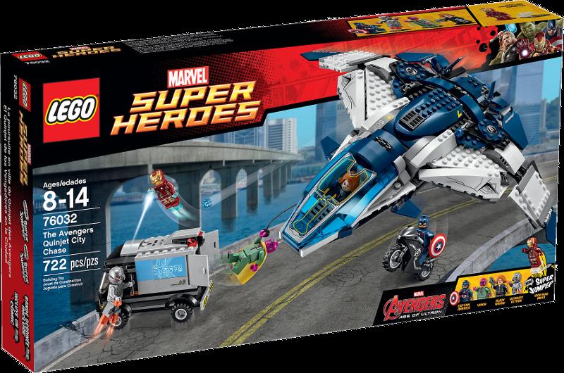LEGO® Super Heroes 76032 - The Avengers Quinjet Verfolgungsjagd
