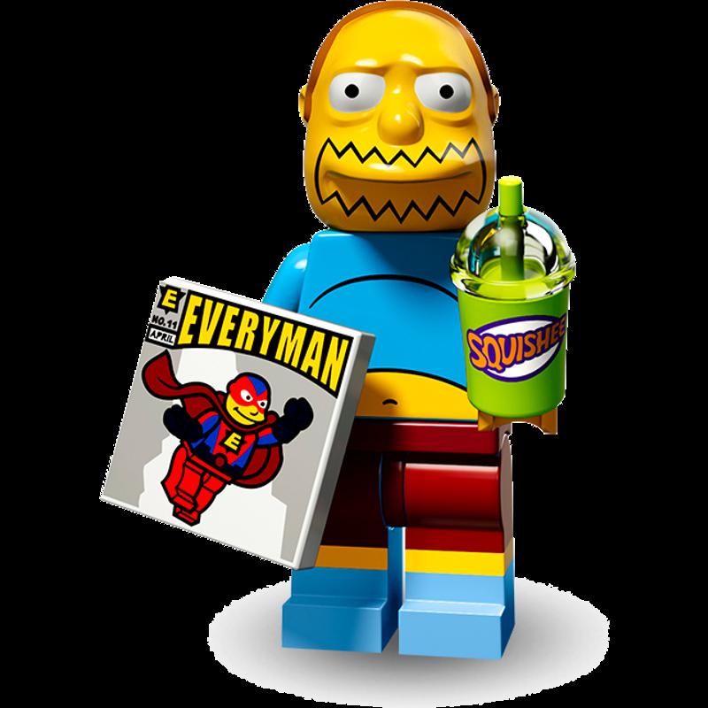 LEGO® Minifigures Simpsons Serie 2 71009-07 - Comicbuchverkäufer