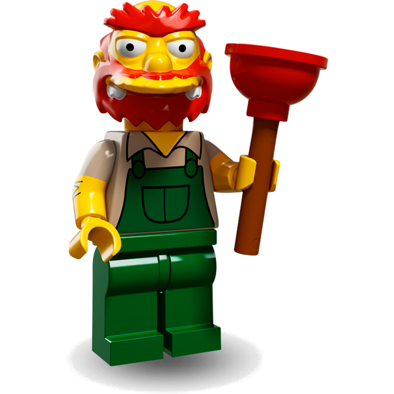 LEGO® Minifigures Simpsons Serie 2 71009-13 - Hausmeister Willie