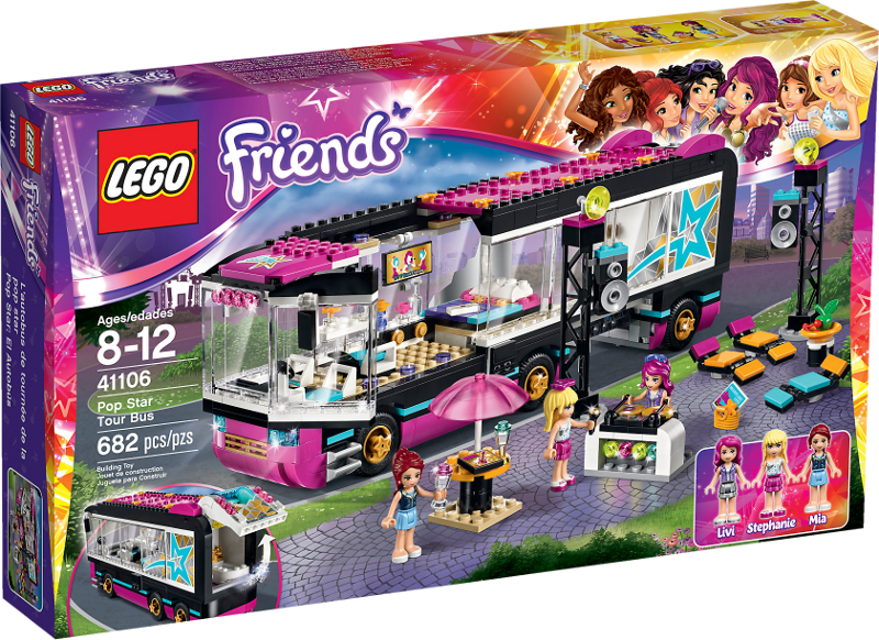 LEGO® Friends 41106 - Popstar Tourbus