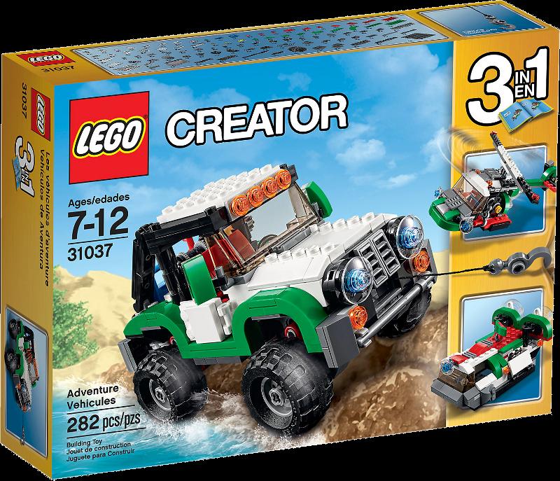 LEGO® Creator 31037 - Abenteuerfahrzeuge