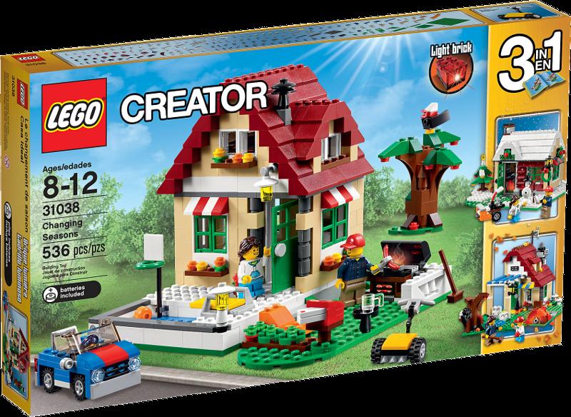LEGO® Creator 31038 - Wechselnde Jahreszeiten