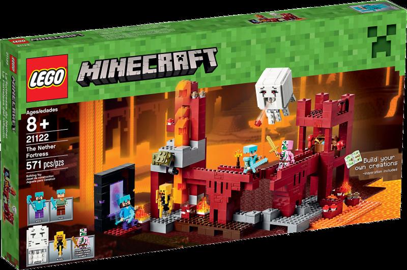 LEGO® Minecraft 21122 - Die Netherfestung