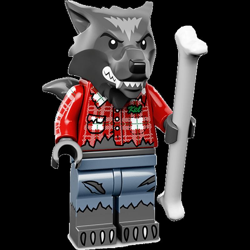 LEGO® Minifigures Serie 14 71010-01 - Wolf-Typ