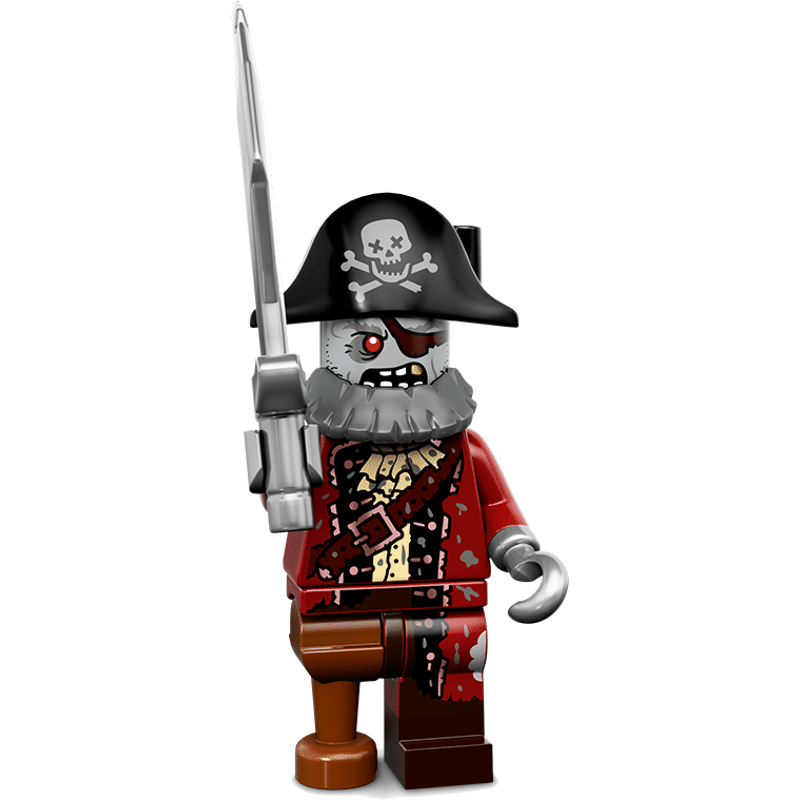LEGO® Minifigures Serie 14 71010-02 - Zombie-Pirat