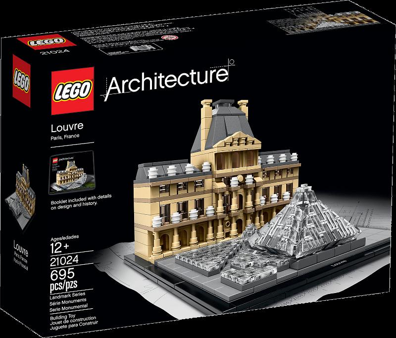 LEGO® Architecture 21024 - Louvre