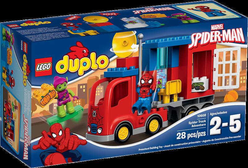 LEGO® DUPLO® 10608 - Spider-Man - Spider-Truck-Abenteuer
