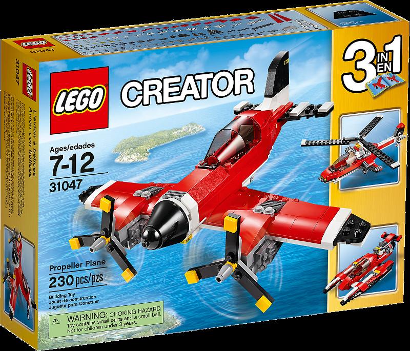 LEGO® Creator 31047 - Propeller-Flugzeug