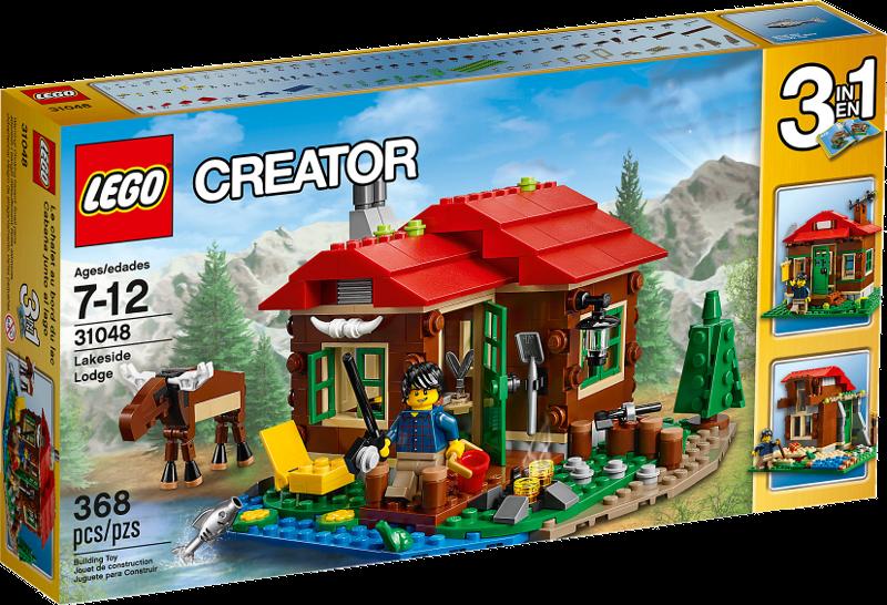 LEGO® Creator 31048 - Hütte am See