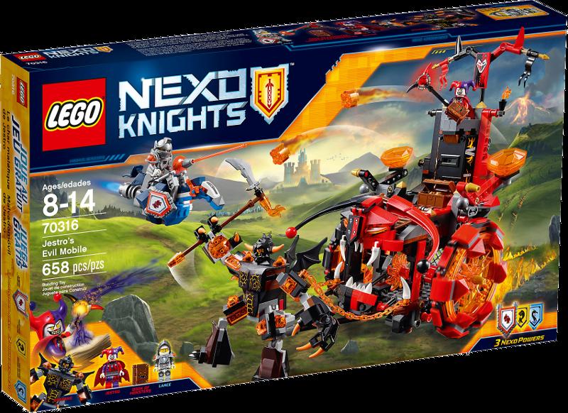 LEGO® NEXO KNIGHTS™ 70316 - Jestros Gefährt der Finsternis