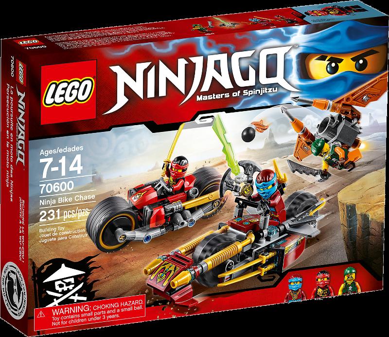 LEGO® NINJAGO® 70600 - Ninja-Bike Jagd