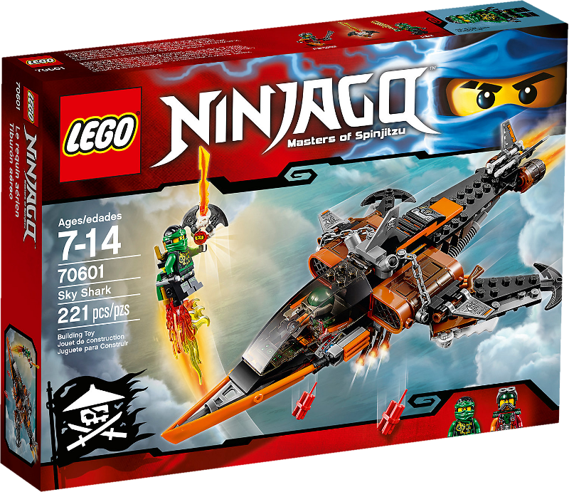 LEGO® NINJAGO® 70601 - Luft-Hai