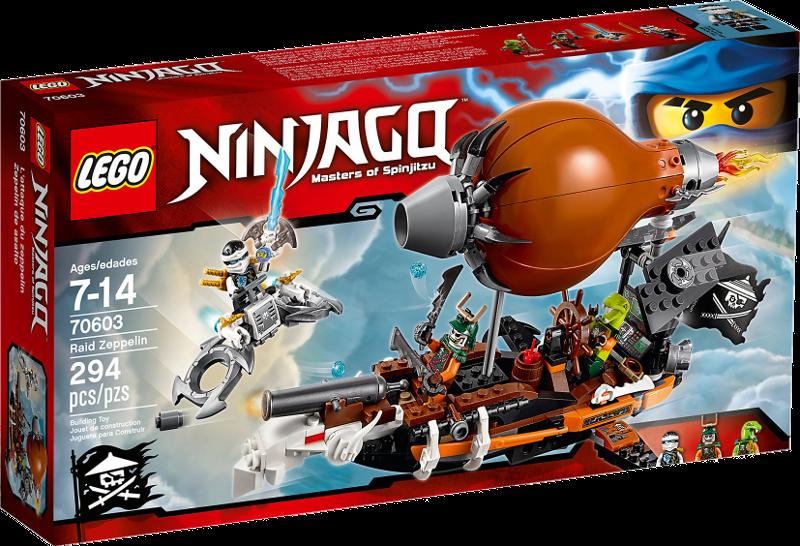 LEGO® NINJAGO® 70603 - Kommando-Zeppelin